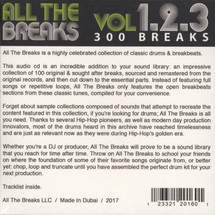 VA - All The Breaks Volume 1+2+3 [CD]