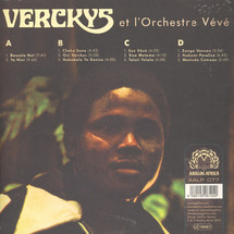 Verckys & Orchestre Veve - Congolese Funk, Afrobeat & Psychedelic Rumba 1969-1978 [2LP]