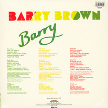 Barry Brown - Barry [LP]