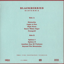 Blackberries - Disturbia (LP+MP3) [LP]