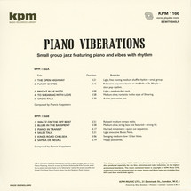 Francis Coppieters - Piano Viberations [LP]