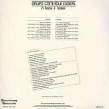 Grupo Controle Digital - A Festa E Nossa [LP]