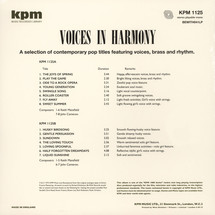 Keith Mansfield - Voices In Harmony [LP]