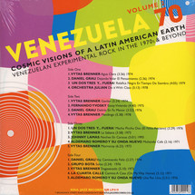 VA - Venezuela 70 Vol.2: Cosmic Visions of A Latin American Earth: Venezuelan Experimental Rock In The 1970s and Beyond [2LP]