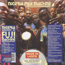 VA - Nigeria Fuji Machine [CD]