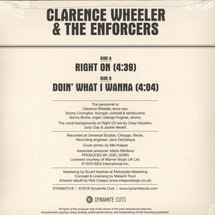 Clarence Wheeler - Right On/ Doin