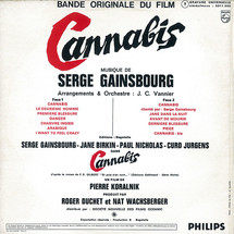 Serge Gainsbourg - Cannabis: Bande Originale Du Film [LP]