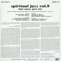 VA - Spiritual Jazz Vol.9: Blue Notes, Part 1 [2LP]