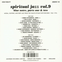 VA - Spiritual Jazz Vol.9: Blue Notes, Parts 1 & 2 [2CD]