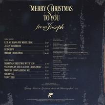 Joseph Washington Jr. - Merry Christmas To You (Gold Coloured Vinyl Edition) [LP]