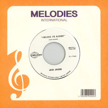 Jack Jacobs - I Believe It