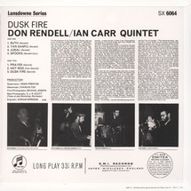 The Don Rendell - Dusk Fire [LP]