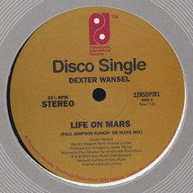 "Dexter Wansel - Life On Mars (Remix) (Ltd. Hand Numbered 12"")(RSD 2019) [12""]"