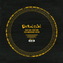 Fatboy Slim - Right Here, Right Now - 20th Anniversary Edition (RSD 2019)