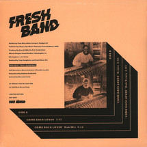 """Fresh Band - Come Back Lover [12""""]"""