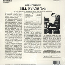 Bill Evans Trio - Explorations [LP]