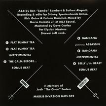 """Freddie Gibbs - Flat Tummy Tea [12""""]"""
