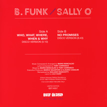 """B Funk - Who, What, Where, When & Why [12""""]"""