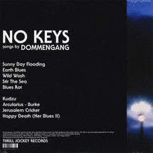 Dommengang - No Keys (Limited Orange Vinyl LP+MP3) [LP]
