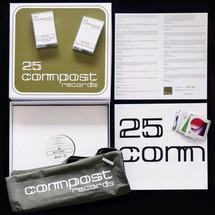 """VA - 25 Compost Records Box Set [10x12""""]"""
