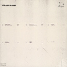 Jordan Rakei - Origin (LTD Heavyweight Clear LP+MP3)