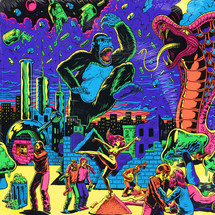 VA - Warfaring Strangers: Acid Nightmares (Colored Vinyl Edition) [2LP]