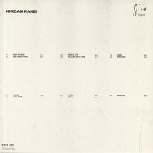 Jordan Rakei - Origin (Heavyweight LP+MP3)