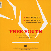 "Free Youth - We Can Move [12""]"