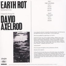 David Axelrod - Earth Rot (Instrumentals) [LP]