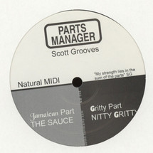 """Scott Grooves - Parts Manager [12""""]"""