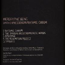 Hieroglyphic Being - Synth Expression/ Rhythmic Cubism [LP]