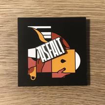 Asfalt Records - Przypinka ASFALT  [przypinka]
