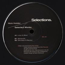"""Nick Holder - Selected Works [12""""]"""