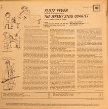 The Jeremy Steig Quartet - Flute Fever [LP]