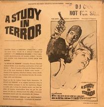 John Scott Orchestra - A Study In Terror [LP]