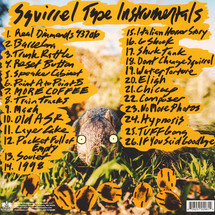 Evidence - Squirrel Tape Instrumentals Volume 1 [LP]