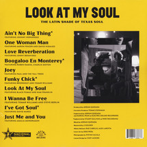 VA - Look At My Soul: The Latin Shade of Texas Soul [LP]