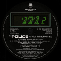 The Police - Ghost In The Machine (Half Speed Mastering) [LP]