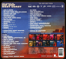 V/A - The Legacy of Hip Hop West Coast [3CD]