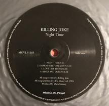 Killing Joke - Night Time [LP]
