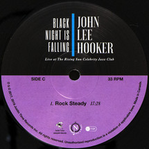 John Lee Hooker - Black Night Is Falling Live At The Rising Sun Celebrity Jazz Club (Collector