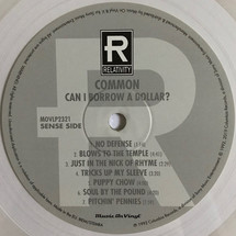 Common - Can I Borrow A Dollar? (Limited Transparent Vinyl Edition/ 180g) [LP]