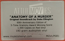 Duke Ellington - Anatomy Of A Murder OST [LP]