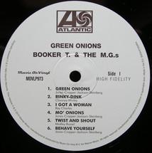 Booker T. & M.G.s - Green Onions (Mono Version) [LP]