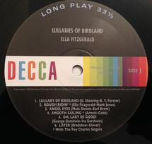 Ella Fitzgerald - Lullabies Of Birdland [LP]