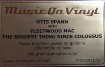 Otis Spann - The Biggest Thing Since Colossus [LP]