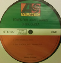 Chick Corea - Tones For Joan's Bones [LP]
