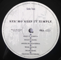 Keb' Mo' - Keep It Simple [LP]