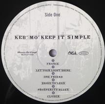 Keb' Mo' - Keep It Simple [LP]
