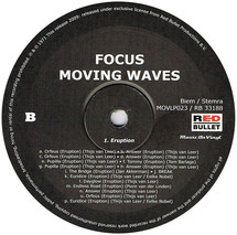 Focus - Moving Waves [LP]